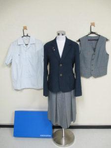 千葉西高校の制服