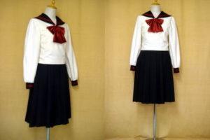 博多女子中学校の制服