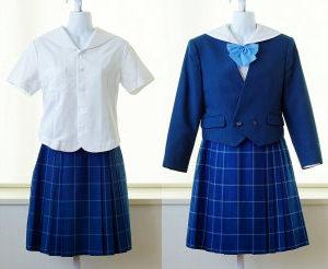 富山南高校の制服