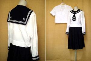 函館白百合高等学校の制服
