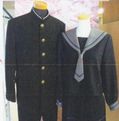 庄西中学校 富山県 制服買取