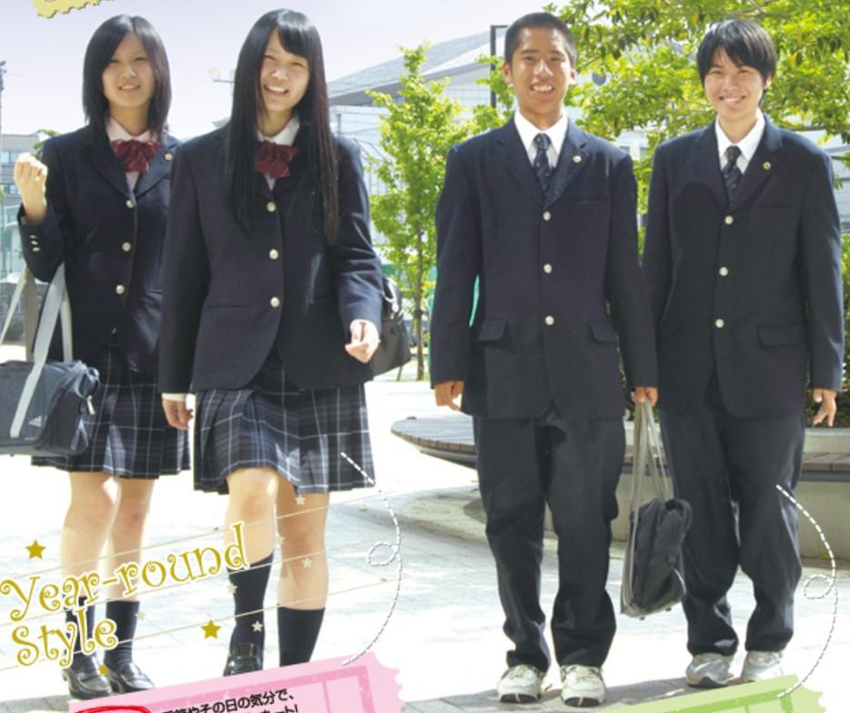 高松中央高等学校 香川県 制服買取