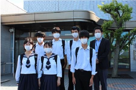 米子西高等学校 鳥取県 制服買取