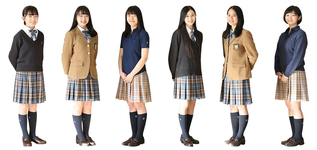 品川女子学院中等部・高等部の制服